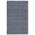 Safavieh Hand-loomed Moroccan Navy Cotton Rug (3' x 5')