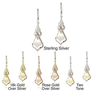 Mondevio Sterling Silver Graduating Dangle Earrings