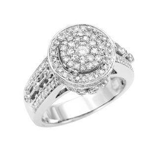 14k White Gold 3/4ct TDW Diamond Engagement Ring (G, SI1)