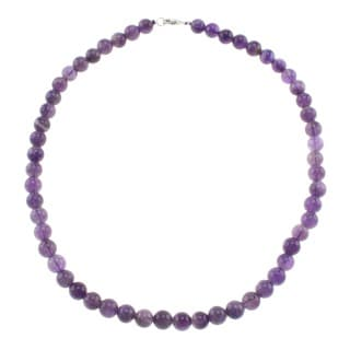 Pearlz Ocean Amethyst Bead Necklace