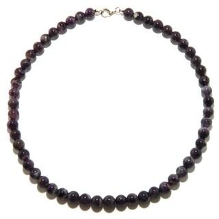 Pearlz Ocean Amethyst Bead Necklace