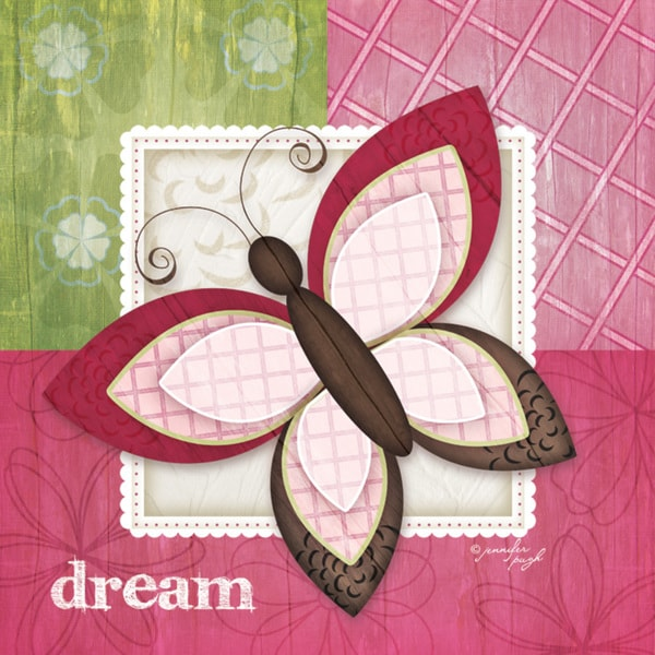 Butterfly Dream Jennifer Paper Print (Unframed)
