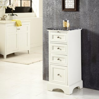 Naples White Bath Chest