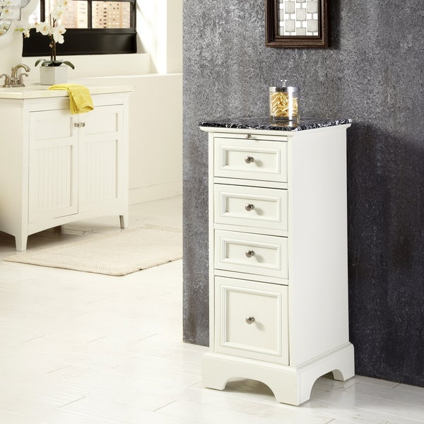 cabinet storage bathroom chest furniture organization shelves drawers