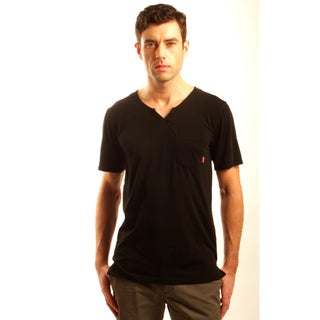 191 Unlimited Men's Slim Fit Moroccan Neck Tee