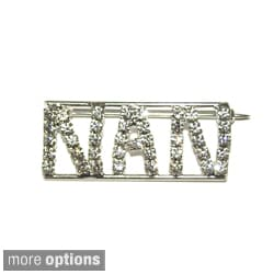 'N Collection' Crystal Name Pin