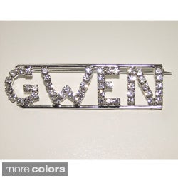'G Collection' Crystal Name Pin