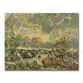Vincent Van Gogh 'Autumn Landscape' Canvas Art