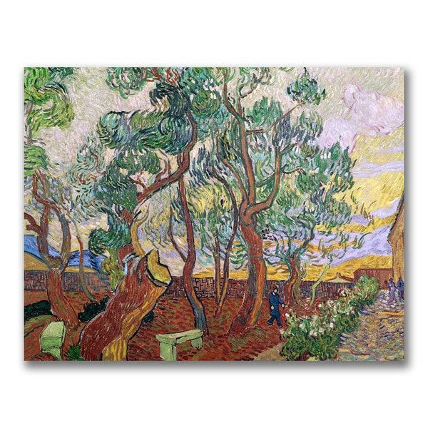Vincent Van Gogh 'The Garden of St. Paul' Canvas Art