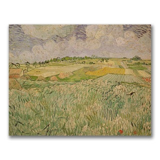 Vincent Van Gogh'The Plains of Auvers' Canvas Art