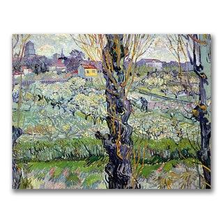 Vincent Van Gogh 'View of Arles' Canvas Art