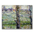 Vincent Van Gogh 'View of Arles' Canvas Art