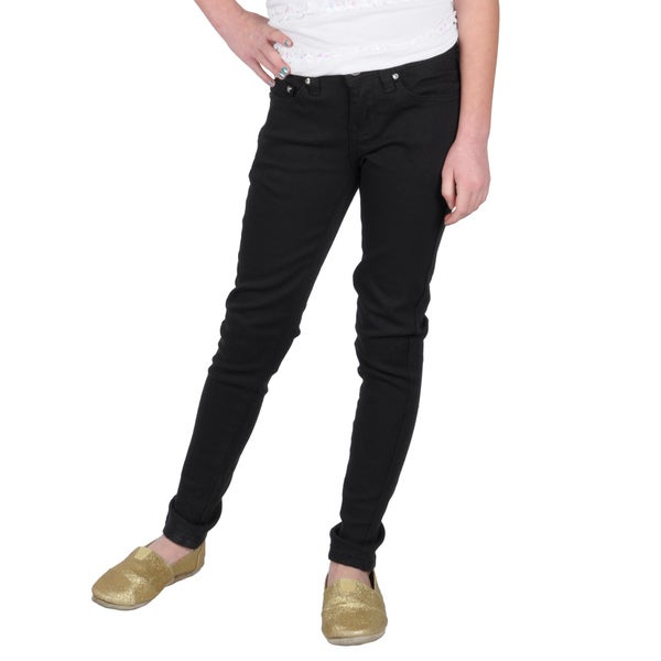 Hailey Jeans Co. Girls' Stretch Skinny Jeans
