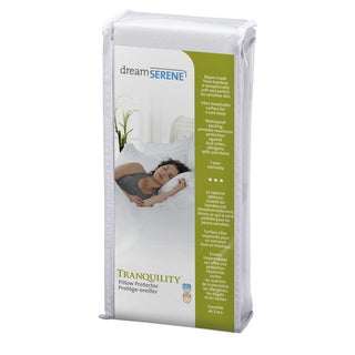 DreamSerene Rayon from Bamboo 260 Waterproof Pillow Protector