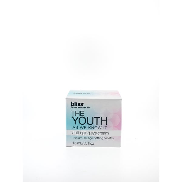 Bliss 'The Youth As We Know It' Anti-aging Eye Cream