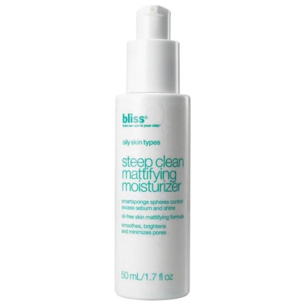 Bliss 'Steep Clean' Mattifying Moisturizer