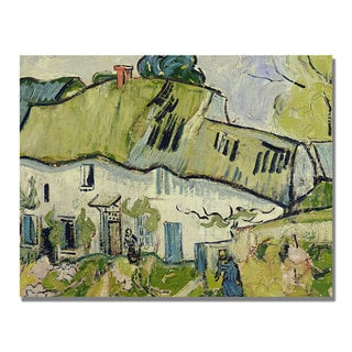 Vincent Van Gogh 'The Farm in Summer' Canvas Art