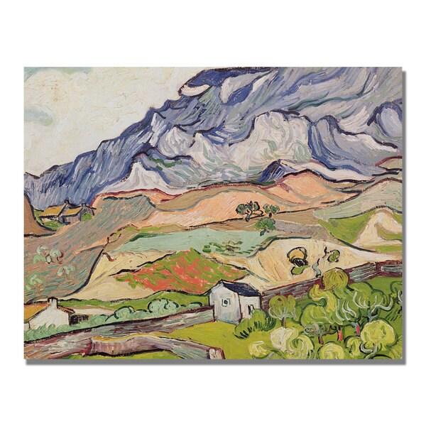 Vincent Van Gogh 'The Alpilles' Canvas Art