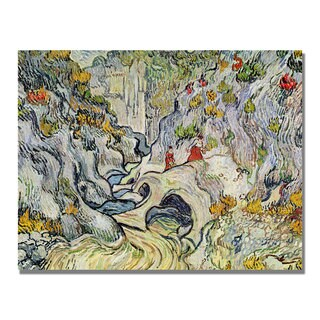 Vincent Van Gogh 'The Ravine of the Peyroulets' Canvas Art