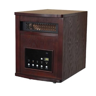 Smart+ Products Cherry 1800 Square Foot Quartz Infrared Portable Electric Heater with Remote (Refurbished)