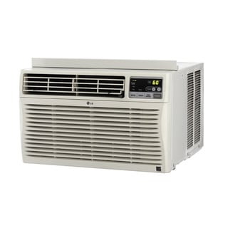 LG 8,000 BTU Window Air Conditioner with Remote (Refurbished)