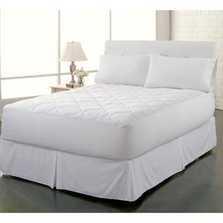 Rest Remedy Clean and Fresh 250 Thread Count Cotton Waterproof Mattress Pad