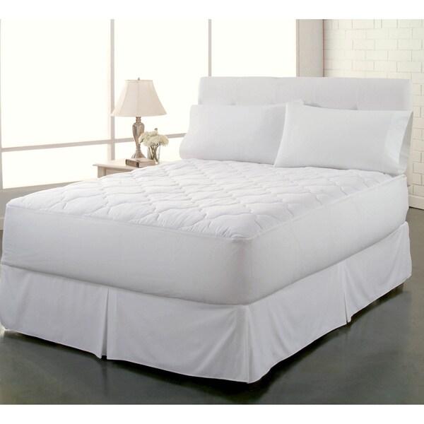 Restonic Clean and Fresh 250 Thread Count 100-percent Cotton Waterproof Mattress Pad