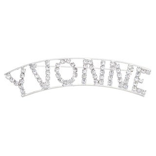 Detti Originals &#39;Vyonne&#39; Crystal Name Pin