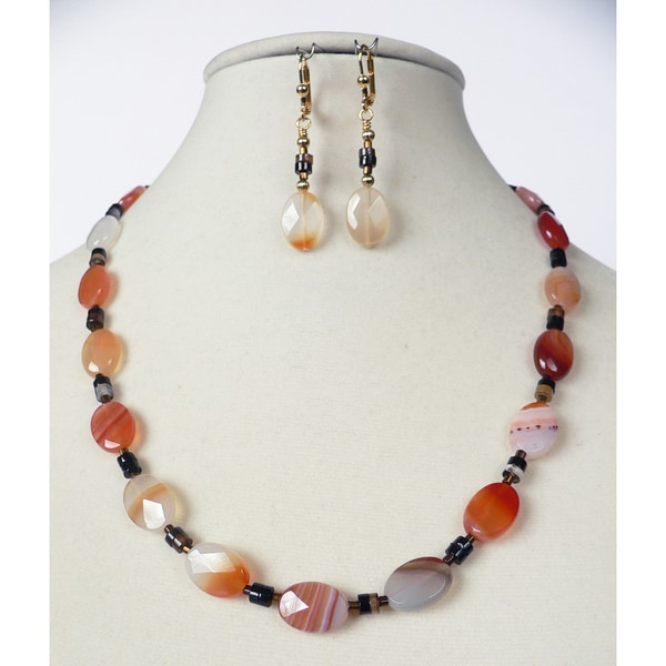 'Santa Fe' Necklace and Earring Set