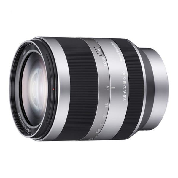 Sony SEL-18200 18 mm - 200 mm f/3.5 - 6.3 Telephoto Zoom Lens (New in Non-Retail Packaging)