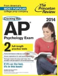 Cracking the AP Psychology Exam, 2014 (Paperback)