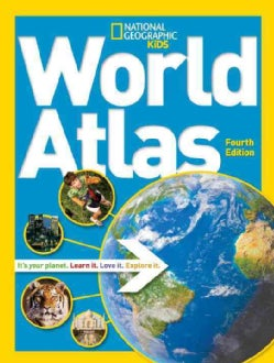 National Geographic Kids World Atlas (Paperback)