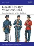 Lincoln's 90-Day Volunteers 1861: From Fort Sumter to First Bull Run (Paperback)