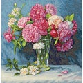 "Gold Collection Mary's Bouquet Counted Cross Stitch Kit-12""X12"""