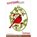 "CottageCutz Die 4""X6""-Holiday Cardinal"