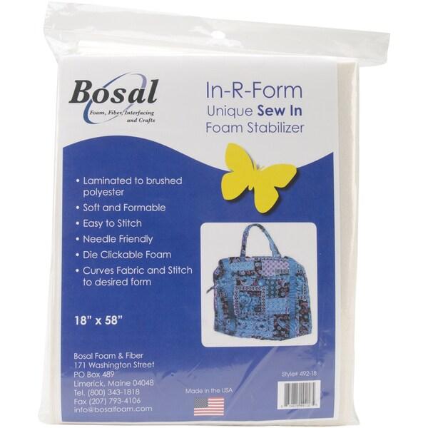 "In-R-Form Unique Sew In Foam Stabilizer-18""X58"" White 1/Pkg"