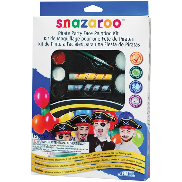 Snazaroo Face Painting Kit-Pirate