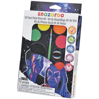 Snazaroo Face Painting Party Kit-UV
