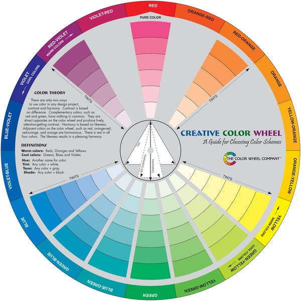 Creative Color Wheel-