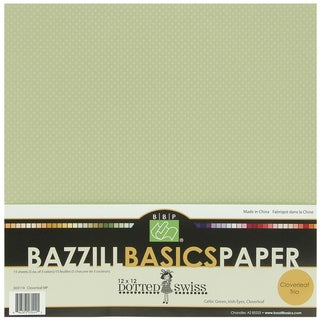 Bazzill Dotted Swiss Trio Multi-Pack 12