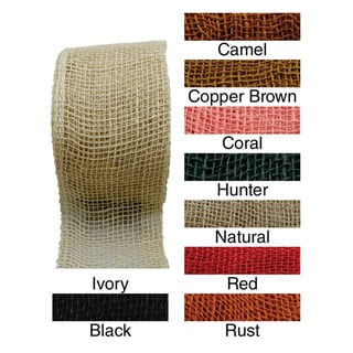 "Jute Ribbon 4""X 10 Yards"
