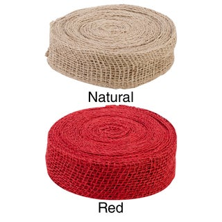 "Jute Ribbon 2""X 10 Yards"