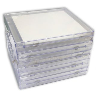 "Crafter's Companion Clear Jewel Case-5.625""X4.875""X.375"""