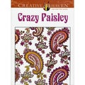 Dover Publications-Crazy Paisley