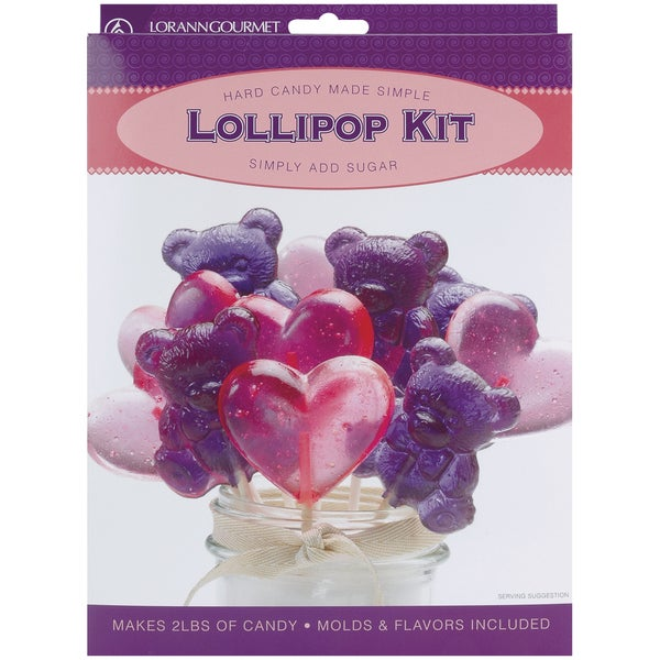 Lollipop Kit-Hearts & Bears