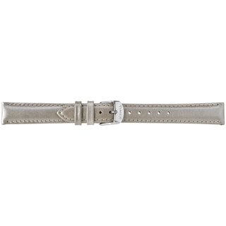 Timex Women's T7B953 16mm Taupe Metallic Leather Replacement Strap