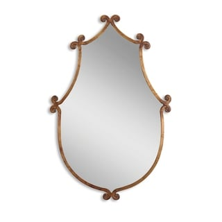 Ablenay Gold Burnished Framed Mirror