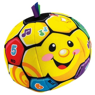 Fisher-Price Laugh And Learn Singing Soccer Ball