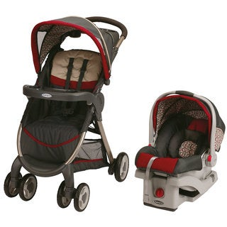 Graco Fast Action Fold Travel System with SnugRide 30 Click Connect in Finley