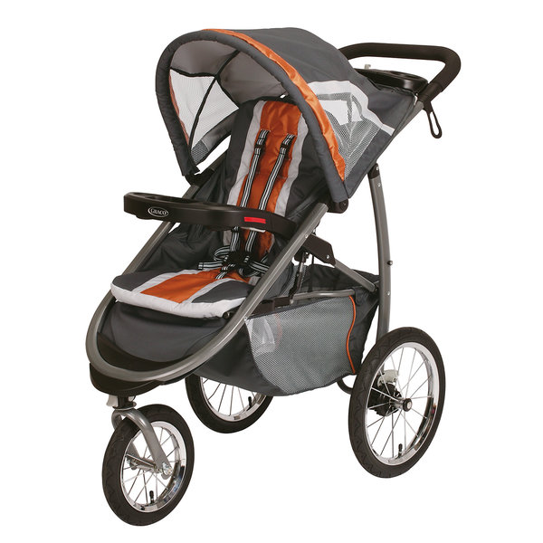 Graco Fast Action Jogger Stroller in Tangerine